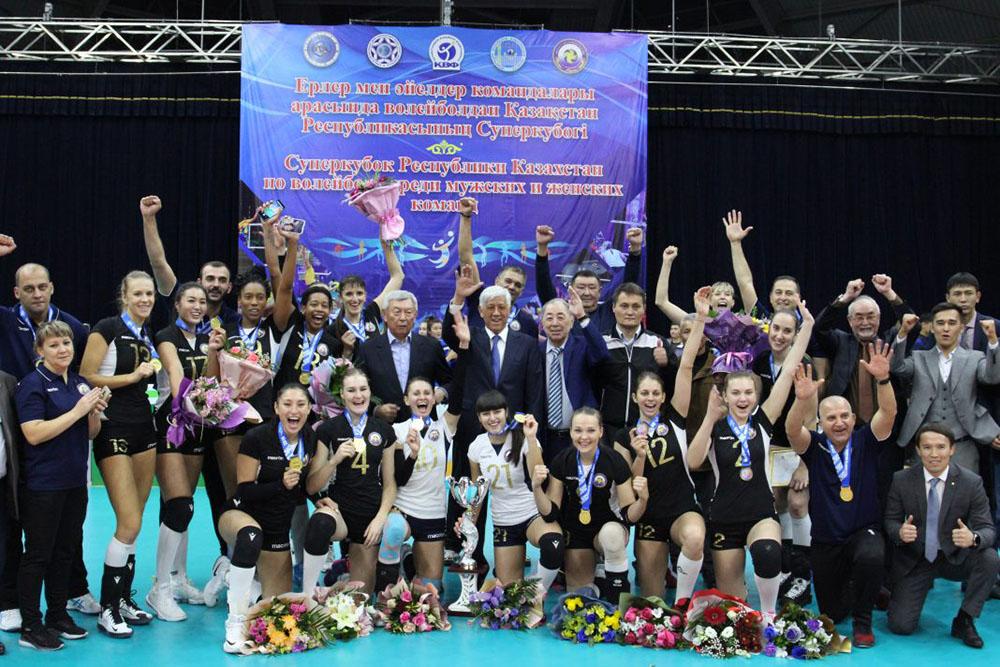 Photo of Волейболдан «Жетісу» командасы ҚР-ның Суперкубогін ұтып алды