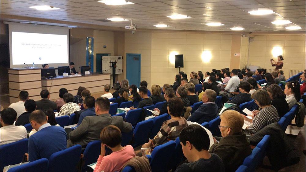 Photo of Талдықорған қаласында МӘМС жағдайында медициналық көмекті ұйымдастыру туралы семинар өтті.