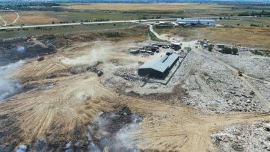 Photo of Пожар на мусорном полигоне близ Алматы локализовали