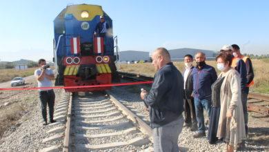 Photo of Для удобства резидентов построен новый железнодорожный путь в ИЛЦ «DAMU»