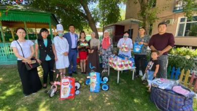Photo of 16000 жителям помогли волонтеры Алматинской области