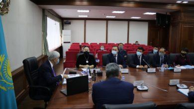 Photo of Республикалық ақпараттық-ағартушылық штаб мүшелері Алматы облысының активімен кездесті