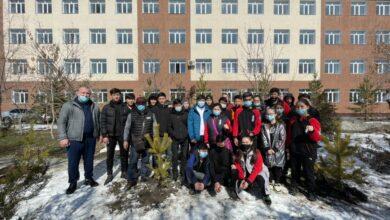 Photo of В преддверии Наурыза спортсмены озеленили Талдыкорган