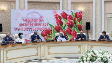 Photo of Алматы облысында денсаулық сақтау саласы қызметкерлерін кәсіби мерекелерімен құттықтады